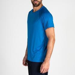 Camiseta de cardio fitness training hombre FTS 100 H azul