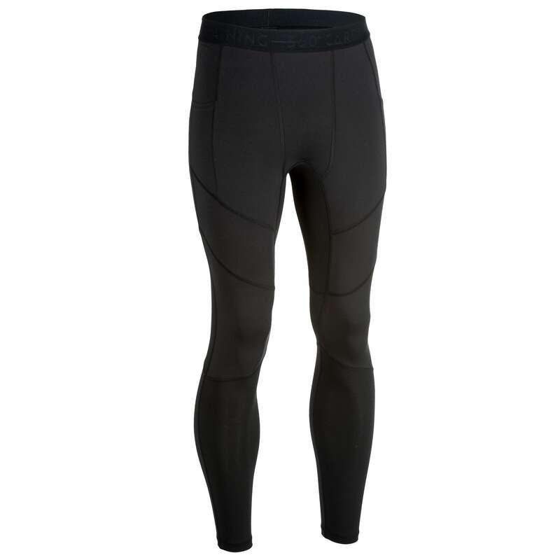 FITNESS CARDIO PANOPLIE CONFIRME HOMME Fitness - Leggings uomo fitness 500 neri DOMYOS - Abbigliamento palestra