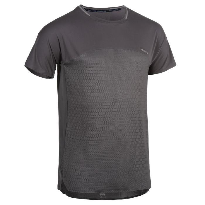 Fitness shirt FTS 920 voor heren, grijs