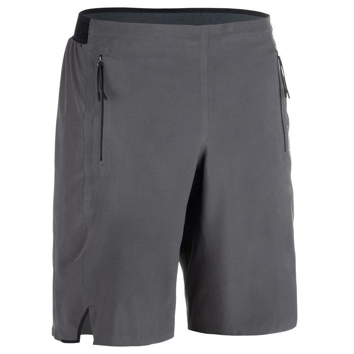 Sporthose kurz FST 900 Fitness Cardio Herren grau