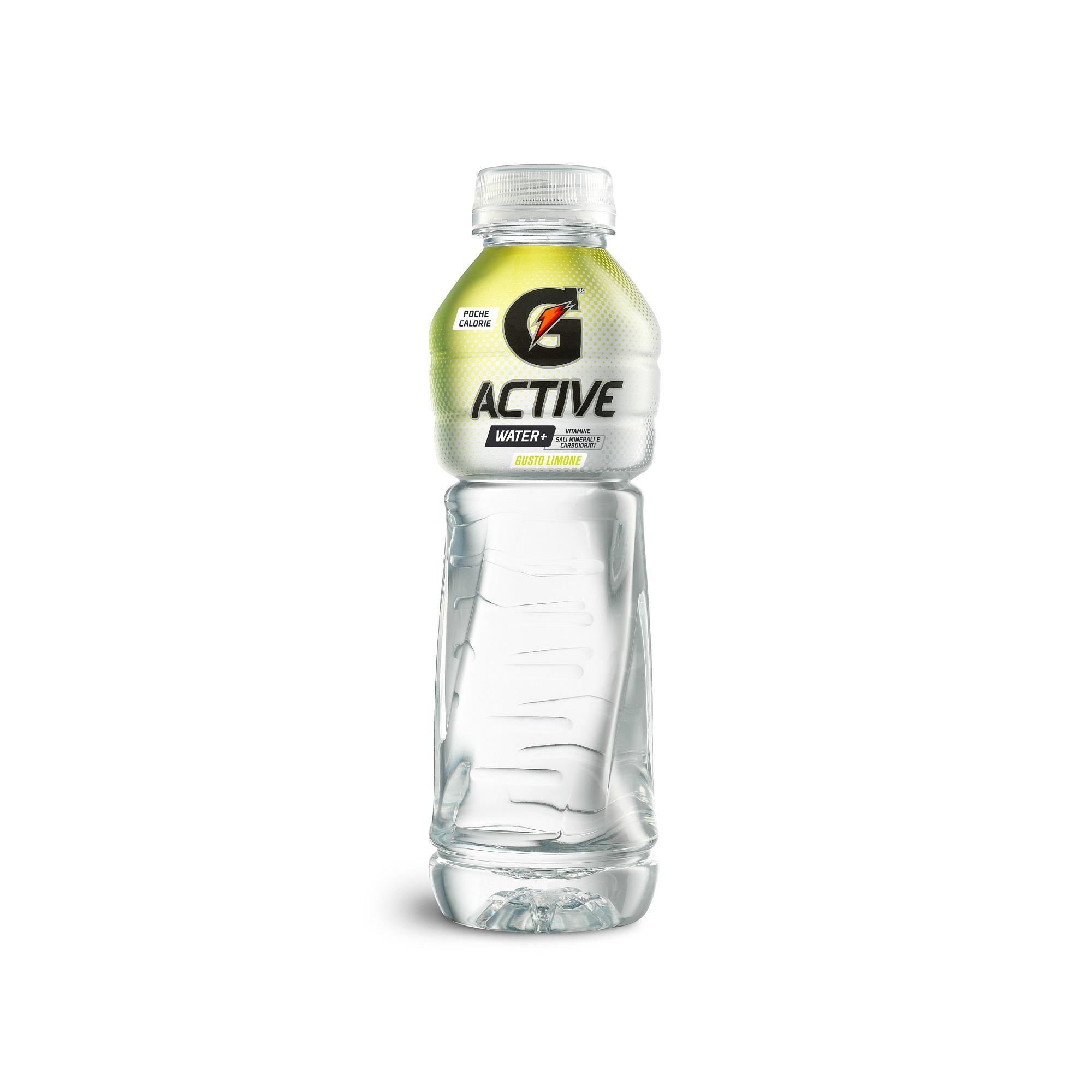 GATORADE. Bevanda Gatorade G ACTIVE water + gusto limone 500ML