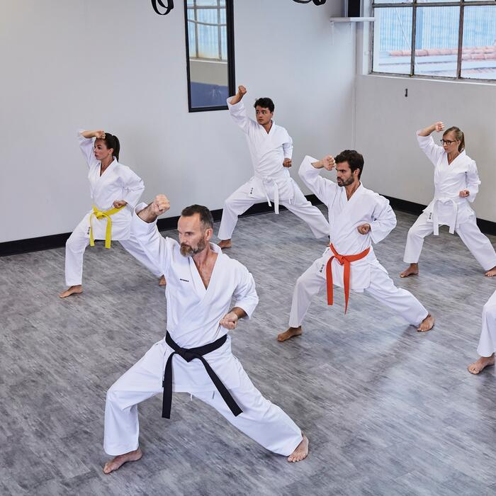 Karateanzug Erwachsene 100