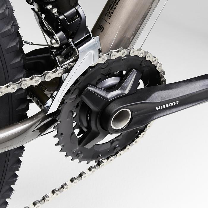 """Mountainbike ST540 MTB 27,5"""" Sandfarben/Schwarz"""