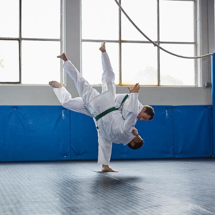 Kimono judo, aikido 500 adulte blanc