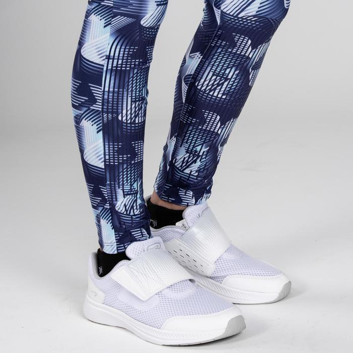 Kids' Athletics Tights AT100 - Blue Print