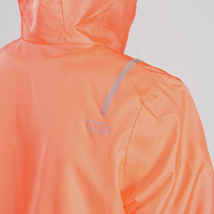 Atletiekjack voor kinderen oranje/grijs