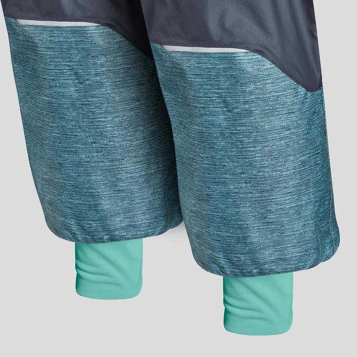 Wanderhose Winterwandern SH500 Ultra-Warm Kleinkinder Mädchen Gr. 92-116 blau
