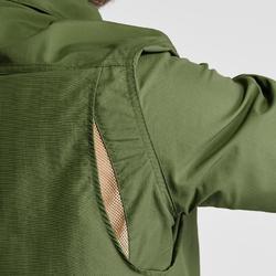 Chemise manches longues de Trekking désert anti-UV - DESERT 500 homme vert foncé