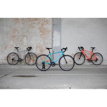 Herenracefiets voor recreatief fietsen RC100 grijs
