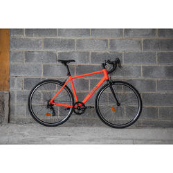 VELO ROUTE HOMME CYCLOTOURISME RC100 ORANGE LTD EDITION