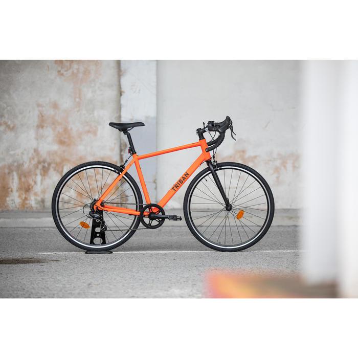 Rennrad Triban RC 100 orange Limited Edition
