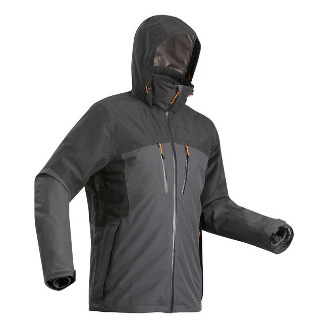 Men's 3-in-1 Jacket Travel 500 - Black