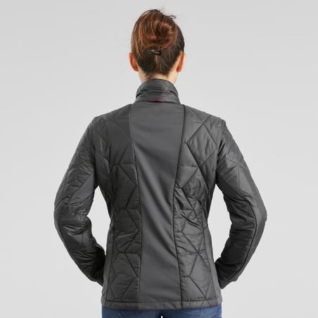 Travel 500 3-in-1 Waterproof Comfort Travel Trekking Jacket – Women