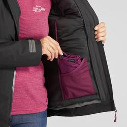 3-in-1 damesjas voor backpacken Travel 500 zwart