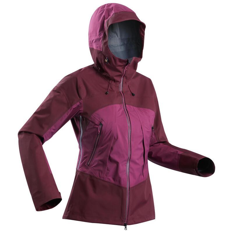 Women's Waterproof Mountain Trekking Jacket - MT500