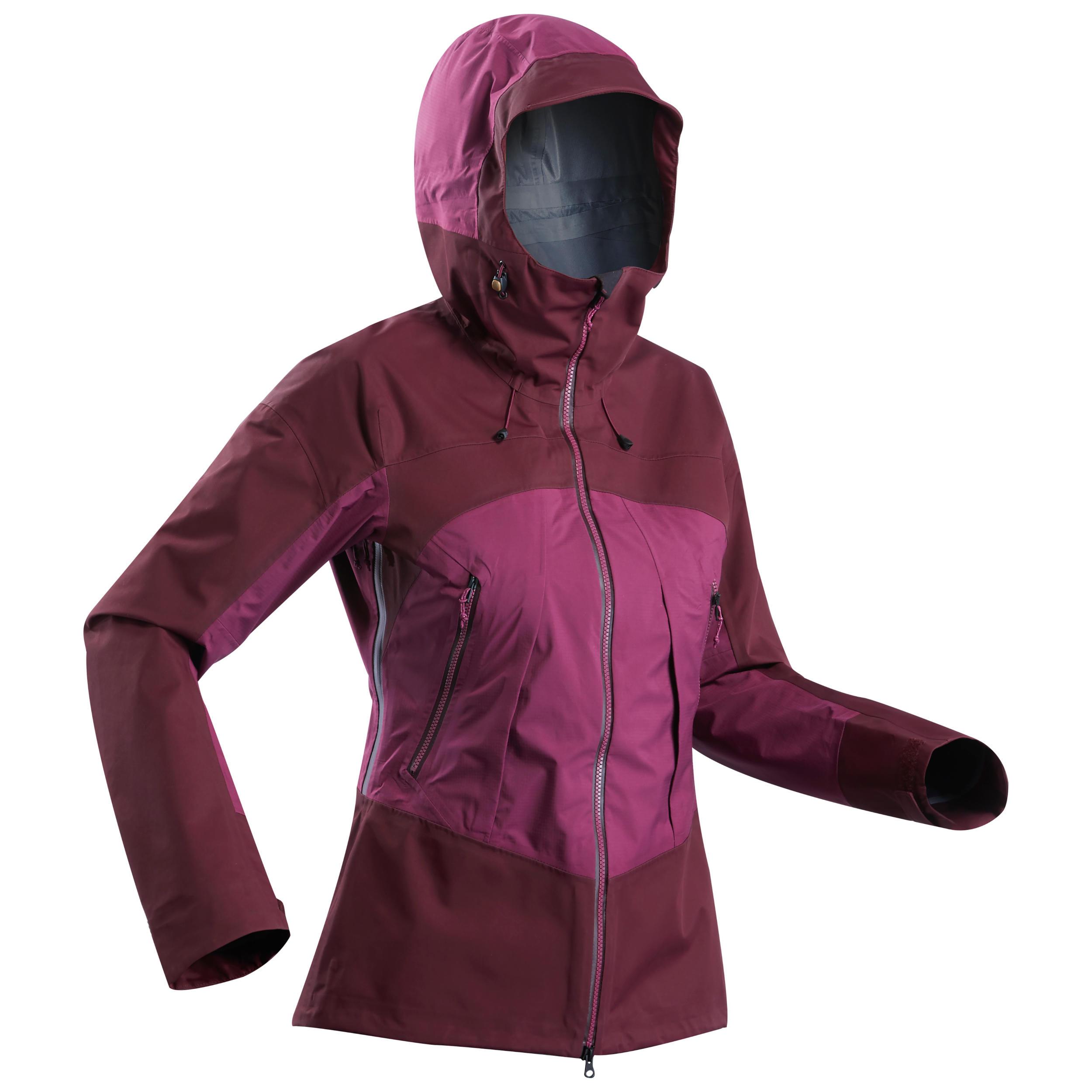 Jachetă TREK500 Mov Damă imagine