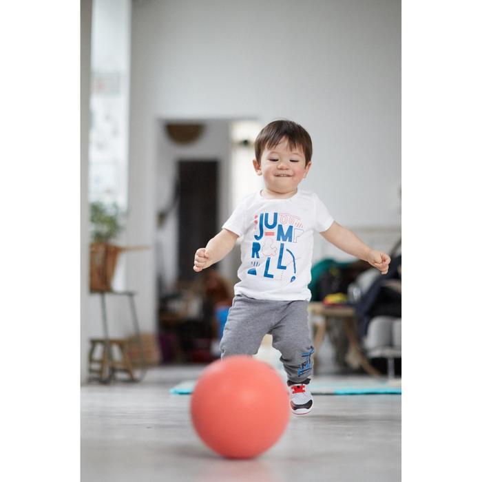 Turnschuhe 520 I Learn Breath+++ Baby grau/rot