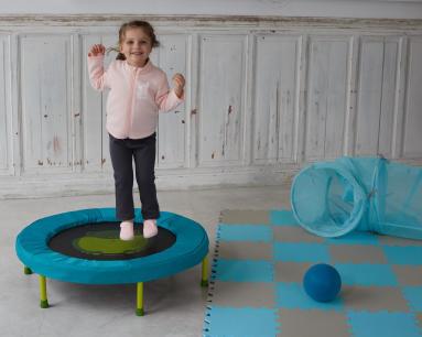 sauter- baby gym-mini trampoline