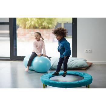 Mini trampoline baby gym