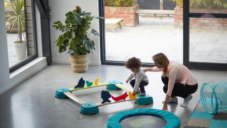parcours maison Baby Gym