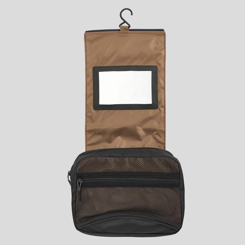 กระเป๋าใส่อุปกรณ์อาบน้ำสำหรับเทรคกิ้งรุ่น TRAVEL