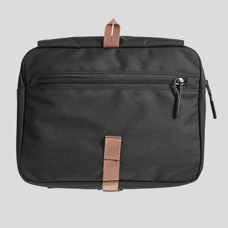 กระเป๋าใส่อุปกรณ์อาบน้ำสำหรับเดินทาง (สีดำ)