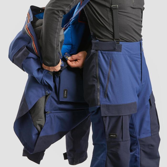 Trekkinghose warm Arctic 900 Unisex Erwachsene blau