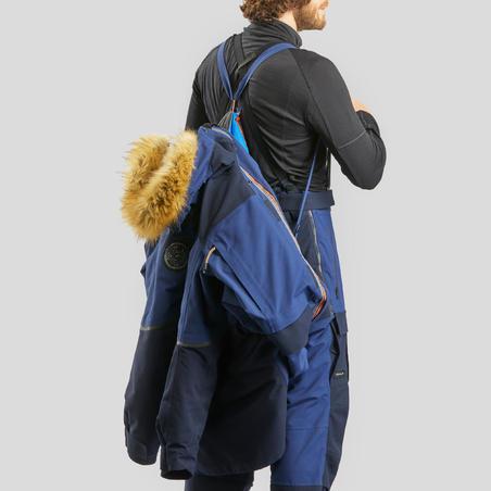 Adult Trekking Parka Arctic 500 Extra Warm - Blue