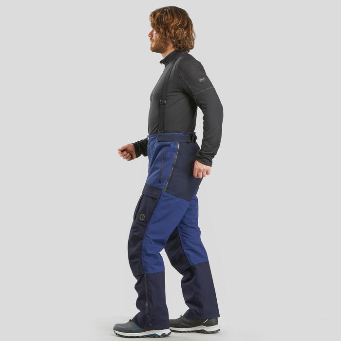 Pantalon chaud Arctique trekking 900 Unisexe Bleu
