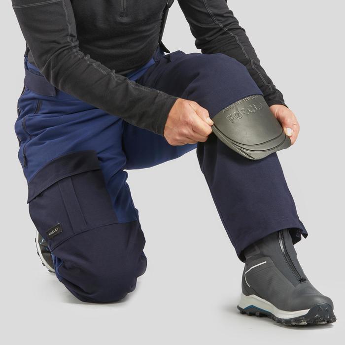 Pantalon chaud Arctique trekking 500 Unisexe A Bleu