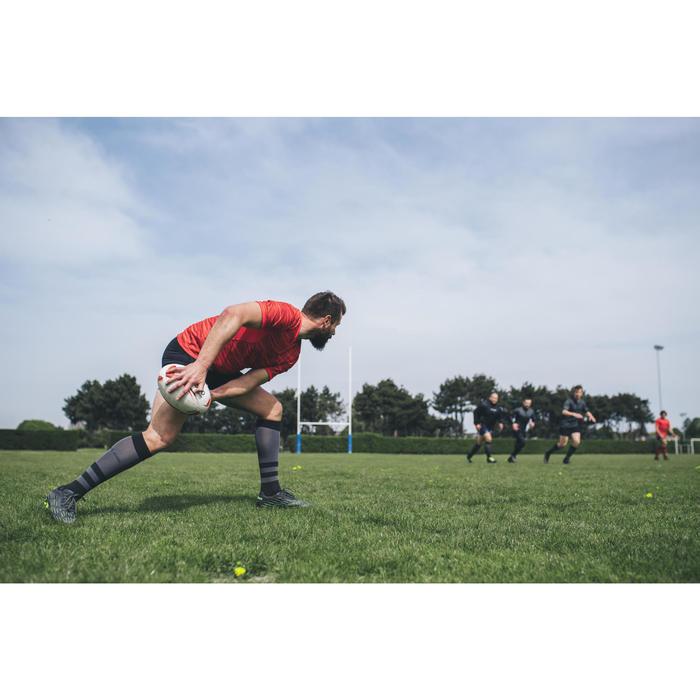 Balón de rugby R500 talla 5 rojo