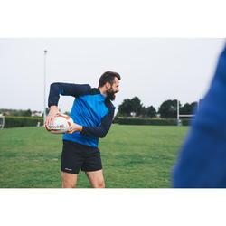 Rugbyshorts R500 Herren schwarz