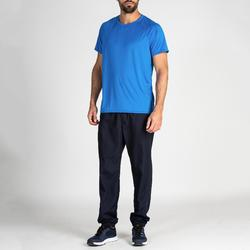 Pantalón chándal Fitness Cardio Domyos FPA 120 hombre azul marino