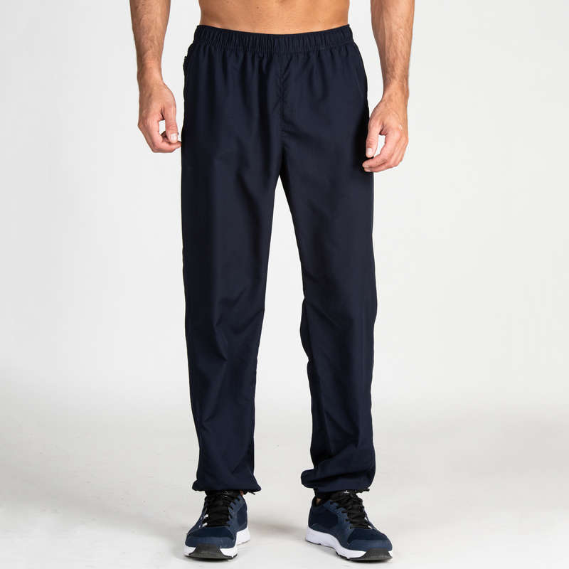 MAN FITNESS APPAREL Fitness and Gym - FPA 120 Bottoms - Navy DOMYOS - Fitness and Gym