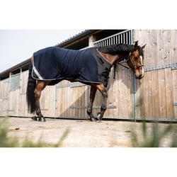 Abschwitzdecke Polar Perf Pferd/Pony marineblau