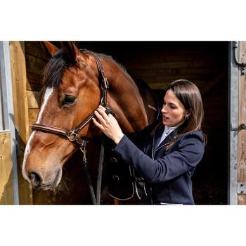 Veste de concours équitation femme COMP 100 marine