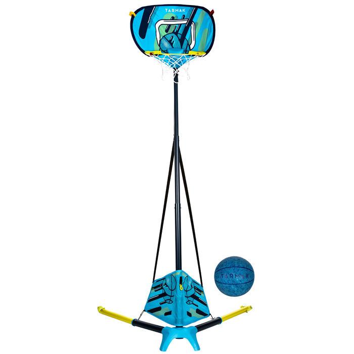 Basketballkorb Hoop 500 Easy Überall dabei und in weniger als 60 sec aufgebaut.