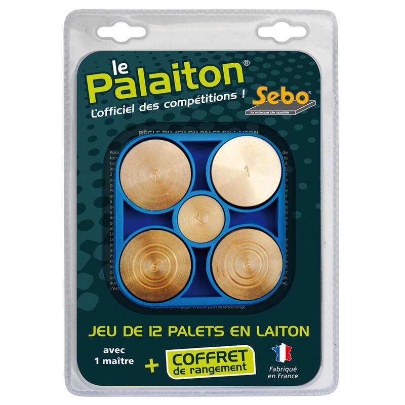 JEU DE PALETS VENDÉEN EN LAITON PALAITON