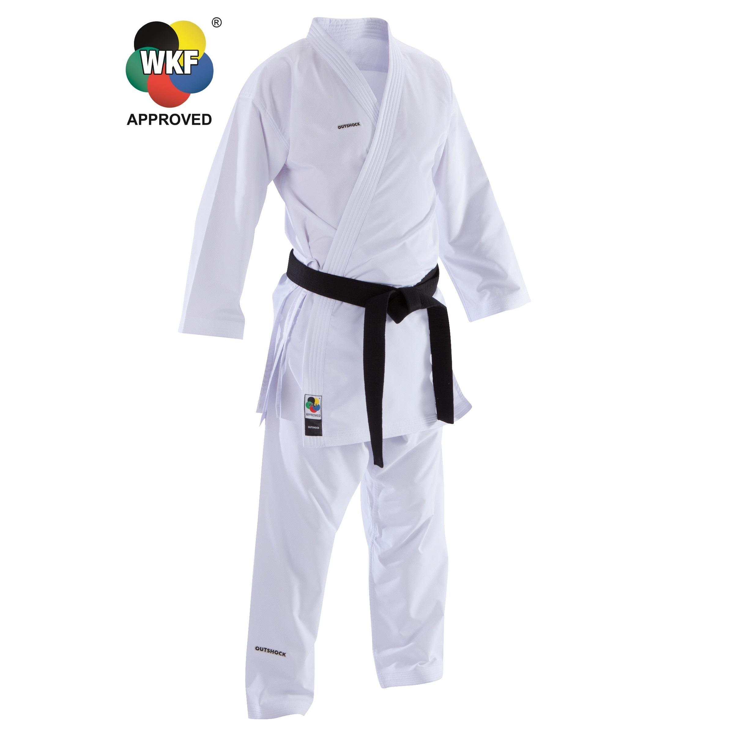 Karateanzug 900 Kumite Erwachsene | Sportbekleidung > Sportanzüge > Sonstige Sportanzüge | Weiß | Outshock