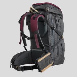 Organizer grand modèle de trek voyage - TRAVEL marron