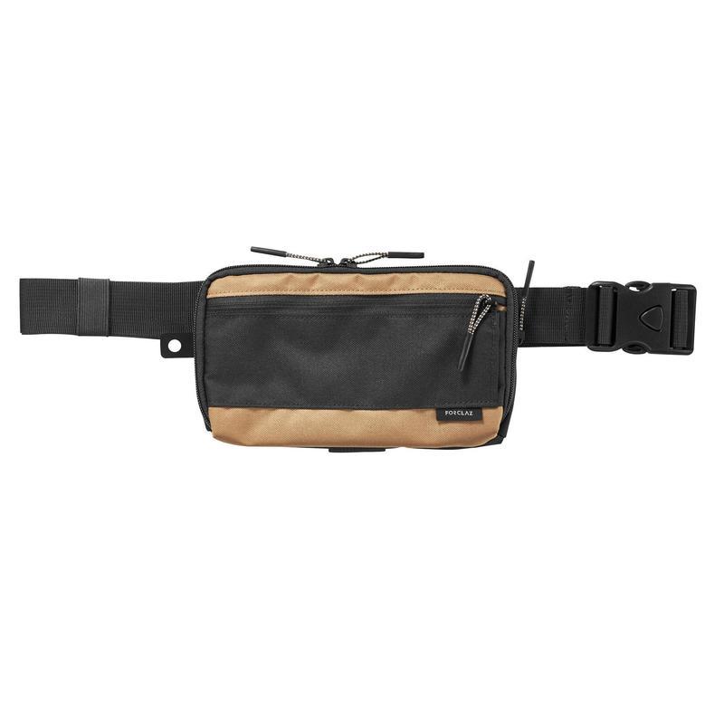 Ruime portefeuille/organizer voor backpacken Travel XL bruin