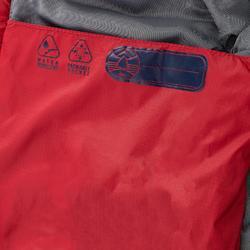 Chaqueta acolchada de senderismo júnior MH500 burdeos 2- 6 años