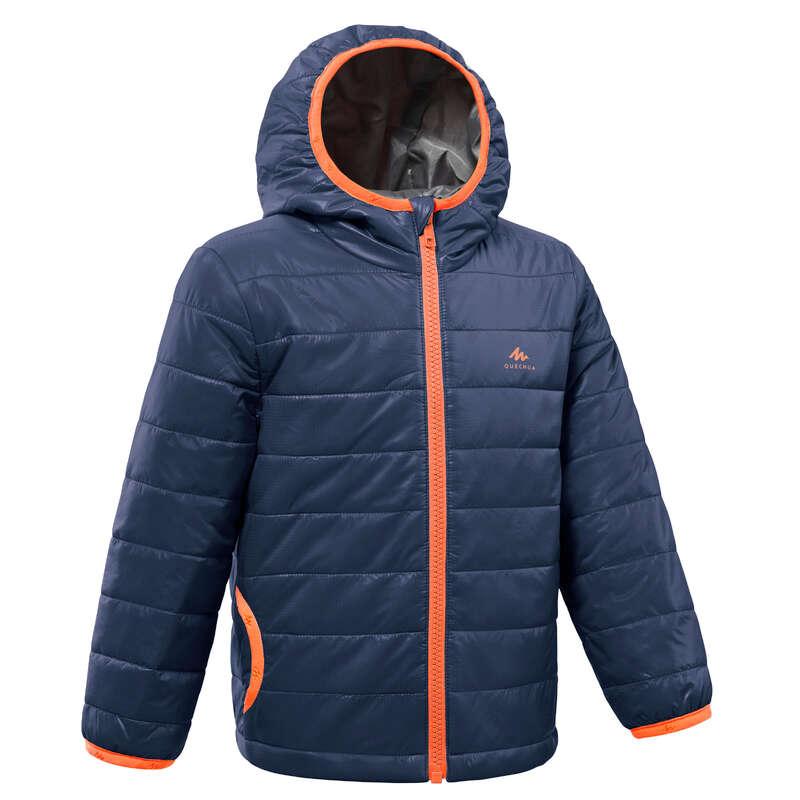 FLEECE PADDED & SOFTHELL JKT BOY 2-6 Y Drumetie,Trekking - Jachetă Călduroasă MH 500  QUECHUA - Imbracaminte
