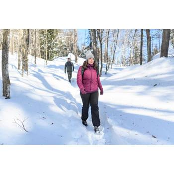 Wandeljas voor de sneeuw dames SH100 x-warm paars