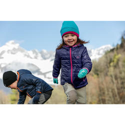 Gewatteerde wandeljas voor kinderen MH500 grijs 2-6 jaar