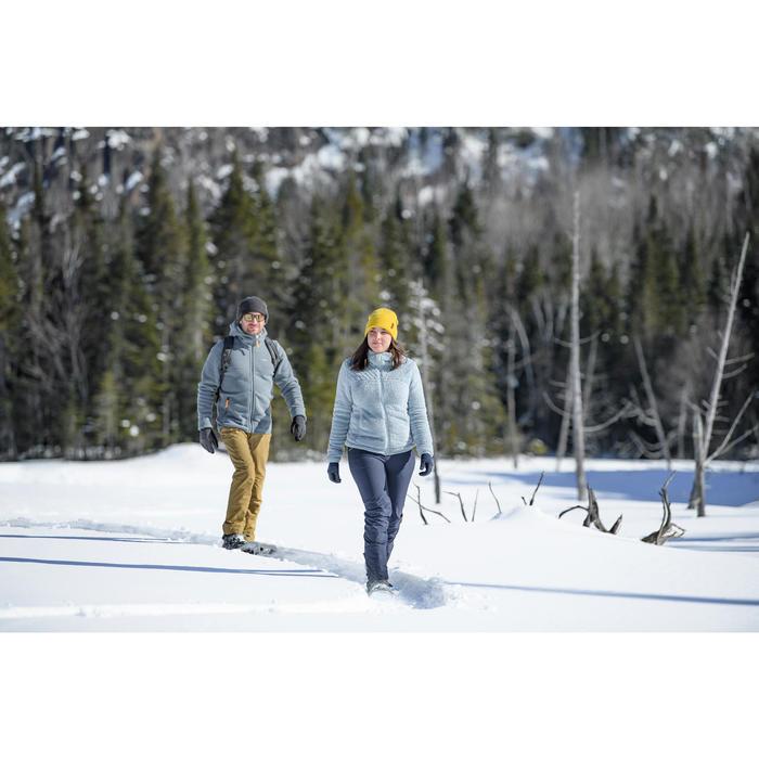 Wanderhose Winterwandern SH500 Extra-Warm Damen blau