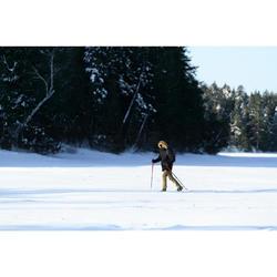 Men's Warm Waterproof Snow Hiking Parka SH500 Ultra-Warm - Black.