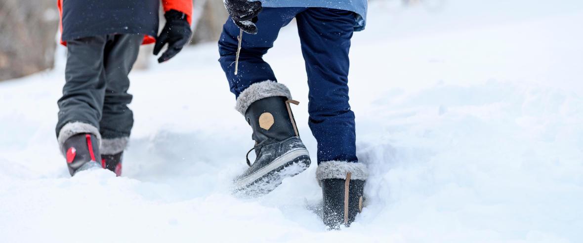 Snow Contact : semelle pour plus d'accroche et d'adhérence