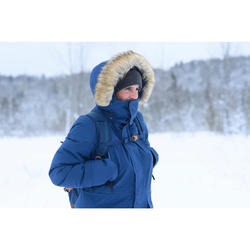 Warme waterdichte parka voor de sneeuw heren SH500 ultra-warm blauw