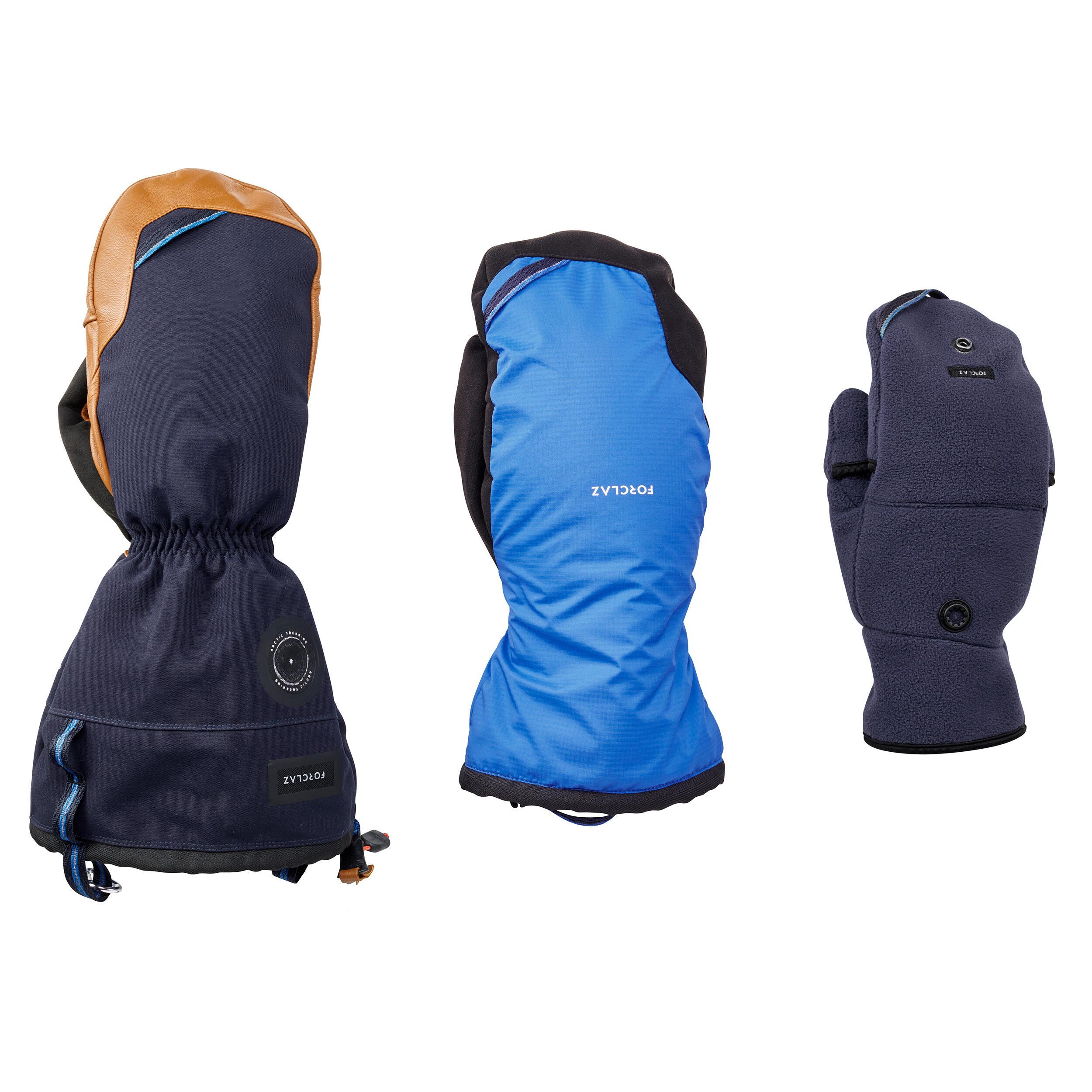 Fäustlinge Arctic Trekking MITT 500 | Accessoires > Handschuhe > Fäustlinge | Forclaz